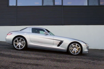 Mercedes-Benz SLS AMG presentation for Starmark - Denmark
