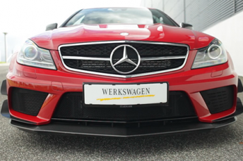 Mercedes-Benz C63 AMG Black Series presentation for Starmark